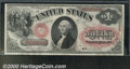 Large Size:Legal Tender Notes, 1875 $1 Legal Tender Note, Fr-20, Choice CU. This beautiful...