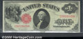 Large Size:Legal Tender Notes, 1917 $1 Legal Tender Note, Fr-36, Choice AU. This attractive ex...