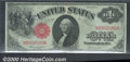 Large Size:Legal Tender Notes, 1917 $1 Legal Tender Note, Fr-36, Choice CU. An attractive, hig...