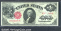 Large Size:Legal Tender Notes, 1917 $1 Legal Tender Note, Fr-36, Choice CU. Very well centered...