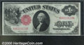 1917 $1 Legal Tender Note, Fr-36, Gem CU. A fantastic Gem with bold embossing, excellent colors, and nice margins for th...
