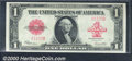 1923 $1 Legal Tender Note, Fr-40, Choice CU+. A gorgeous note with original paper wave and nice embossing that has the a...