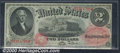 1874 $2 Legal Tender Note, Fr-43, CU. The paper quality and crispness of the corners of this desirable early deuce are s...