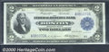 Large Size:Federal Reserve Bank Notes, 1918 $2 Federal Reserve Bank Note (Boston), Fr-747, Choice AU. ...
