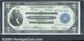 Large Size:Federal Reserve Bank Notes, 1918 $2 Federal Reserve Bank Note (Philadelphia), Fr-756, Choic...
