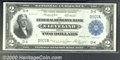 1918 $2 Federal Reserve Bank Note (Cleveland), Fr-757, Choice CU+. Almost perfectly centered on the obverse, while the p...