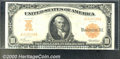 Large Size Gold Certificates:Large Size, 1907 $10 Gold Certificate, Fr-1167, VF-XF. This eminently popul...