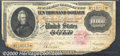 Large Size Gold Certificates:Large Size, 1900 $10,000 Gold Certificate, Fr-1225, Fine. This note pre...