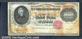 Large Size Gold Certificates:Large Size, 1900 $10,000 Gold Certificate, Fr-1225, CU. This crisp exam...