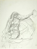 "Original Comic Art:Sketches, Barry Smith - ""Medusa"" Sketch Original Art (1979)...."
