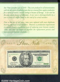 Small Size:Federal Reserve Notes, 1996 $20 Federal Reserve Star Note (Chicago), Fort Worth, Fr-20...