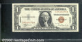 Small Size:World War II Emergency Notes, 1935-A $1 Silver Certificate (HAWAII Surcharge), Fr-2300, Choic...