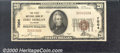National Bank Notes:Colorado, First National Bank of Fort Morgan, CO, Charter #7004. 1929 $20...