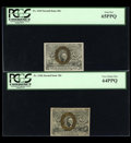 Fractional Currency:Second Issue, Four Second Issue Ten Cent Notes.... (Total: 4 notes)