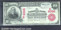 National Bank of Rochester, NY, Charter #8026. 1902 $10 Third Charter Red Seal, Fr-614, AU. Serial Number 1. This meticu...