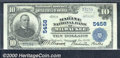 National Bank Notes:Wisconsin, Marine National Bank of Milwaukee, WI, Charter #5458. 1902 $10 ...