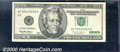 Error Notes: , 1996 $20 Federal Reserve Note (St. Louis), Fr-2083-H, XF-AU, ...