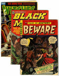 Golden Age (1938-1955):Horror, Miscellaneous Horror Group (Various, 1945-55) Condition: AverageGD.... (Total: 6 Comic Books)