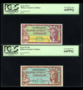 Military Payment Certificates:Series 591, Series 591 Five Different Denominations.... (Total: 5 notes)
