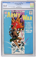 Silver Age (1956-1969):War, Our Army at War #136 (DC, 1963) CGC VF 8.0 Off-white to white pages....