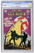 Silver Age (1956-1969):War, Our Army at War #199 (DC, 1968) CGC VF/NM 9.0 Off-white to white pages....