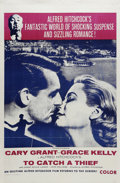 """Movie Posters:Mystery, To Catch a Thief (Paramount, R-Military). One Sheet (27"""" X 41"""").Hitchcock's classic tale of a socialite and a jewel thief w..."""