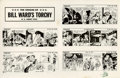 "Original Comic Art:Miscellaneous, Bill Ward - ""The Origin of Bill Ward's Torchy U. S. Army 1943""Signed Print, Group of 28 (undated).... (Total: 29 Items)"