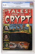 Golden Age (1938-1955):Horror, Tales From the Crypt #28 (EC, 1952) CGC VG 4.0 Light tan tooff-white pages....