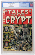 Golden Age (1938-1955):Horror, Tales From the Crypt #30 (EC, 1952) CGC FN/VF 7.0 Off-whitepages....