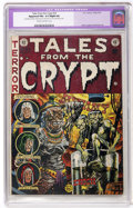 Golden Age (1938-1955):Horror, Tales From the Crypt #33 (EC, 1952) CGC Apparent FN+ 6.5 Slight (A)Cream to off-white pages....