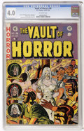 Golden Age (1938-1955):Horror, Vault of Horror #28 (EC, 1953) CGC VG 4.0 Off-white pages....