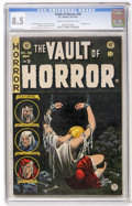 Golden Age (1938-1955):Horror, Vault of Horror #39 (EC, 1954) CGC VF+ 8.5 Cream to off-whitepages....
