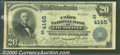 National Bank Notes:Kentucky, Union National Bank of Louisville, KY, Charter #4145. 1902 $20 ...