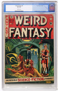 Golden Age (1938-1955):Science Fiction, Weird Fantasy #8 (EC, 1951) CGC VG 4.0 Off-white pages....