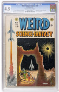 Golden Age (1938-1955):Science Fiction, Weird Science-Fantasy #24 (EC, 1954) CGC VG+ 4.5 Cream to off-whitepages....