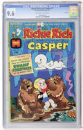 Bronze Age (1970-1979):Cartoon Character, Richie Rich and Casper #1 File Copy (Harvey, 1974) CGC NM+ 9.6Off-white to white pages....