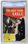 Silver Age (1956-1969):Adventure, Man from U.N.C.L.E. #22 File Copy (Gold Key, 1969) CGC NM 9.4 Off-white to white pages....