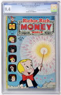 Bronze Age (1970-1979):Cartoon Character, Richie Rich Money World #1 File Copy (Harvey, 1972) CGC NM 9.4Off-white to white pages....