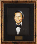 "Movie/TV Memorabilia:Original Art, Milton Berle CENSORED Club Portrait. A 16"" x 20"" pastel portrait ofcomedian and former CENSORED Club President and Abbott M... (Total:1 Item)"