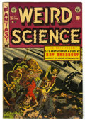 Golden Age (1938-1955):Science Fiction, Weird Science #17 (EC, 1953) Condition: FN/VF....