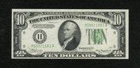 Fr. 2006-H $10 1934A Federal Reserve Note. Choice Crisp Uncirculated. This is a bright example that has deep inks and a...