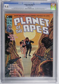 Magazines:Science-Fiction, Planet of the Apes #5 (Marvel, 1975) CGC NM 9.4 White pages....