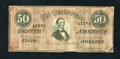 Confederate Notes:1864 Issues, T66 $50 1864. This attractive issue boasts original paper and a palmetto stamp on the bottom left corner. Fine-Very Fine....