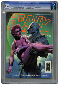 Heavy Metal V8#9 (HM Communications, 1984) CGC NM+ 9.6 White pages