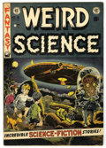 Golden Age (1938-1955):Science Fiction, Weird Science #16 (EC, 1952) Condition: VG+....
