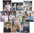 Explorers:Space Exploration, Lot of Two Albums of Autographed Astronaut Photographs,... (Total:2 Items)