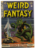 Golden Age (1938-1955):Science Fiction, Weird Fantasy #15 (EC, 1952) Condition: Apparent FN/VF....