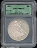 Additional Certified Coins: , 1873 S$1