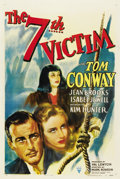 "Movie Posters:Mystery, The Seventh Victim (RKO, 1943). One Sheet (27"" X 41"")...."