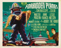 "Movie Posters:Science Fiction, Forbidden Planet (MGM, 1956). Title Lobby Card (11"" X 14"")...."